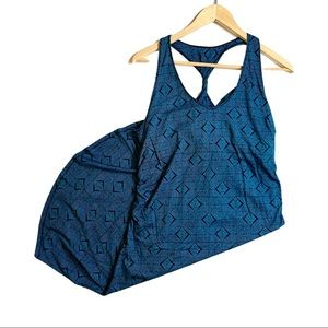 Patagonia Kamala Teal Twist Dress